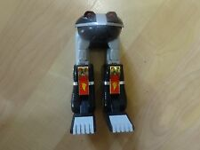 Power Rangers Deluxe Ninja Megazord Black Zord Frog lot movie shogun zord part