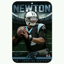 CAM NEWTON CAROLINA PANTHERS 11x17 Plastic Sign DURABLE POSTER FREE SHIPPING!