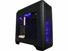 Rosewill VIPER Z ATX Mid Tower Gaming Computer Case w/ Blue LED Fans, USB 3.0