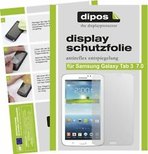 3x dipos Samsung Galaxy Tab 3 7.0 T210 Film de protection d'écran antireflet