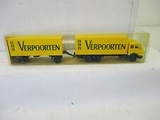 """Wiking 1/87 457 MB 1632 Kofferlastzug """"Verpoorten""""  WS3640"""