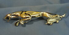 "JAGUAR 7"" BONNET MASCOT CHROME LEAPING CAT BD10954"