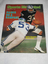 December 13 1982 Sports Illustrated Marcus Allen Raider On A Rampage Rookie RARE