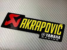 Adesivo Sticker AKRAPOVIC Yamaha Alte Temperature High Temperatures Exhaust