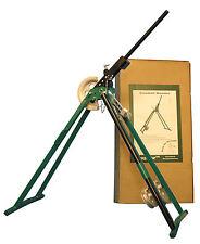 Galvenised conducto Doblador Heavy Duty C/w 20 & 25mm formadores... Envío Gratis!!!!