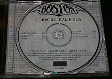 BOSTON 'CORPORATE AMERICA' 2002 PROMO CD