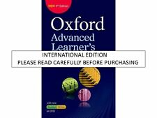 Oxford Advance Learners Dictionary PB wi by Oxford Dictionaries