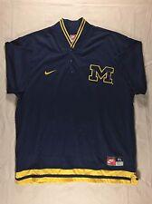 Vintage VTG GRAY TAG University Of Michigan Warmup Basketball Jersey   XL   NCAA