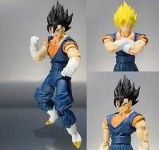Dragon Ball Z DBZ S.H. Figuarts SHF Super Saiyan Vegetto Action Figurine No Box