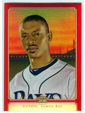 2010 Topps 206 Red Chrome Refractor #12/25 - B.J. UPTON [TC21] - Tampa Bay Rays