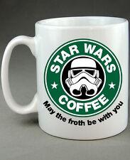 Star Wars Starbucks De Stormtrooper gracioso Taza Regalo Novedad Regalo De Cumpleaños