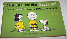 Vintage 1959 YOU'RE OUT OF YOUR MIND, CHARLIE BROWN by Charles M. Schulz