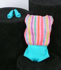 Barbie Aqua swimsuit REPRODUCTION Vintage Repro American Girl Doll Clothes Shoes