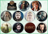 The Hobbit: An Unexpected Journey Metal Photo Button Assortment of 144 Series 1