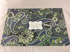 "Vera Bradley Rhythm & Blues Under Cover Adjustable Laptop Skin NWT Up to 17"" NEW"