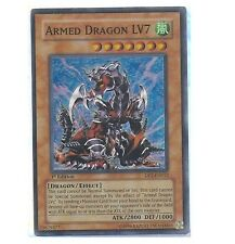 ARMED DRAGON LV7 - DP2-EN013 - 1st Edition Super Rare Holo Foil YuGiOh Card