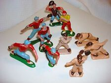 Vintage Plastic Baseball Player Cake Cupcake Toppers Decorations Hong Kong