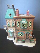 "Dept. 56 Dickens' Village ""Thomas Mudge Timepieces"" 1998 with Box"