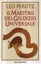 F10 Il maestro del giudizio universale Perutz Ed. Serra Riva 1987