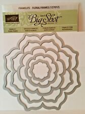 Stampin Up FLORAL FRAMES Framelits Collection NEW Nested Dies Sizzix Bigshot