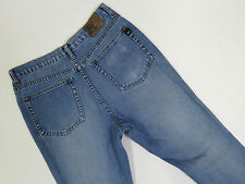 A-061 MENS VINTAGE MOSSIMO FLARED WASH FADED BLUE DENIM JEANS SZE 32
