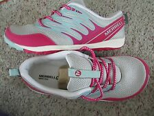 NEW MERRELL TRAIL GLOVE 2 LACE UP TRAIL SHOES GIRLS 6 WOMENS 7/7.5 FREE SH