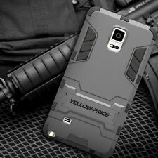 TPU+PC Ultimate protection Armor Case For Samsung Galaxy Note 4 with Kick-Stand