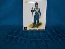 54MM WURTTEMBERG GRENADIER, NAPOLEONIC WAR INFANTRY Toy Soldiers, Made by HAT