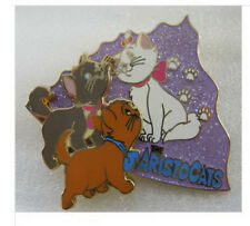Marie, Berlioz and Toulouse Aristocats Authentic Disney Japan LE 500 Pin on card