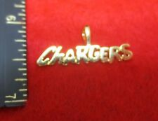 CHARGERS SPORTS TEAM 14KT GOLD EP CHARM PENDANT