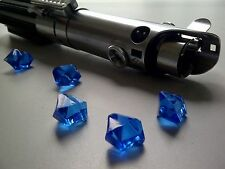 Star Wars 3x Blue Jedi Lightsaber Crystals for Prop Replicas