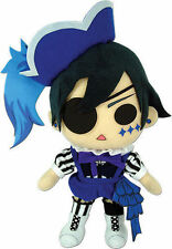 "New 8.5"" Ciel Phantomhive Stuffed Plush - GE-52768 - Black Butler Book of Circus"