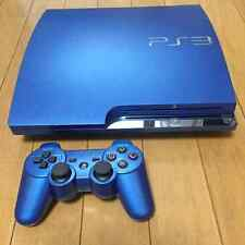 Playstation 3 Splash Blue 320GB Console Japan PS3 *WORKING - GOOD CONDITION*