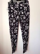 BNWT 100% Auth Ralph Lauren RLX Golf Black & White Wentworth Floral Trousers W32