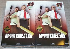 "SIDESHOW SHAUN OF THE DEAD EXCLUSIVE 1/6 SCALE 12"" SHAUN & ED BOTH BRAND NEW"