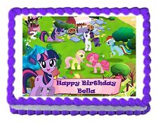 MY LITTLE PONY party decoration edible cake topper decoration cake image sheet