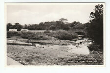 Caravans In Field & The River Lugar Bridge Ochiltree Ayrshire 1960's Real Photo