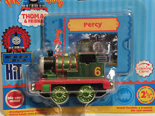 BRAND NEW Take Along/Take-n-Play Thomas 'PERCY' (METALLIC) - RARE - FREE P&P!