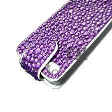 Luxury Sparkle Diamond Bling Flip leather case cover for Apple Samsung Sony