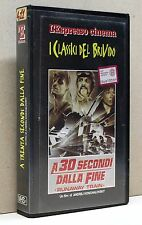 A 30 SECONDI DALLA FINE - Runaway train [vhs, l'espresso cinema]