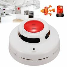 LED Wireless Fire Smoke Gas Sensor Detector Warning Alarm Home Security System