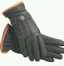 ssg riding gloves  dark brown work n horse