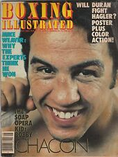 BOXING ILLUSTRATED MAGAZINE BOBBY CHACON BOXING HOFer AUGUST 1983