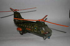 1960's Alps, Made in Japan Battery Operated Army Helicopter