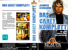 "VHS - "" Das Carey KOMPLOTT ( The Carey Treatment ) "" (1972) - James Coburn"