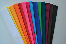 PACK OF 14 CREPE PAPER 2.5x0.5m STREAMER ROLLS, TISSUE PAPER ROLLS
