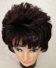 Dark Brown Short Shake Out Wig Hair