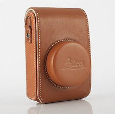Genuine Leather Digital Camera Case Bag For Leica D6 D-LUX6 D-LUX5 Pouch Cover