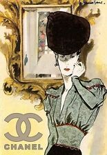 Art Poster Chanel Haute Couture Deco   Print