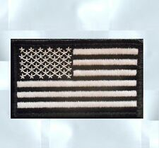 BLACK OPS TACTICAL MILITARY USA AMERICAN FLAG SWAT VELCRO® BRAND FASTENER PATCH